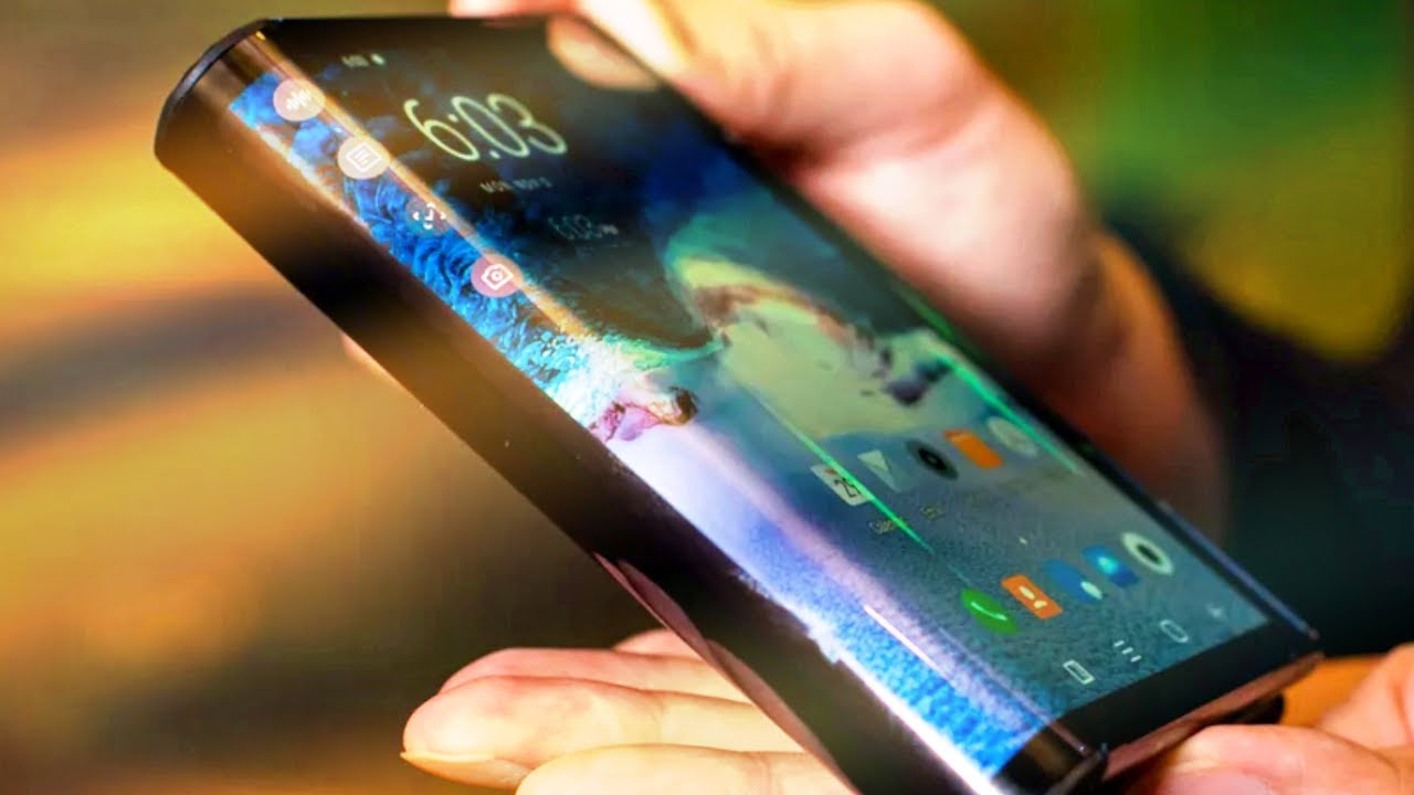 Prise en main d'un smartphone pliable