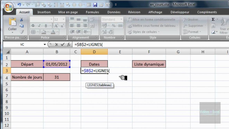 Excel: Comment ajouter une liste déroulante?