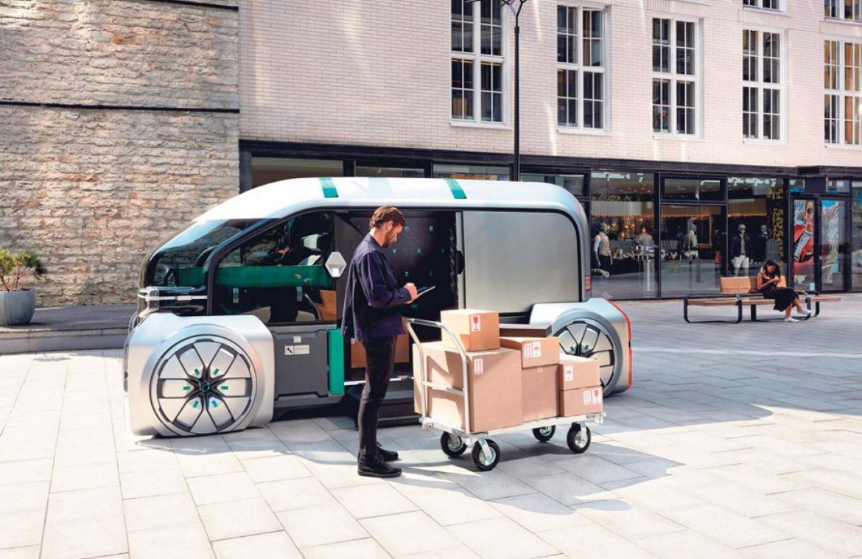 Insolite: Une véhicule autonome qui livre vos colis!